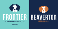 Frontier Veterinary Hospital Logo